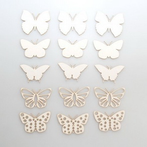 Chipboards Wycinanka / Butterflies