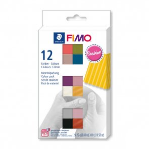 FIMO Soft Fashion / Set of 12 Colours