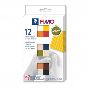 FIMO Soft Natural / sada 12 barev