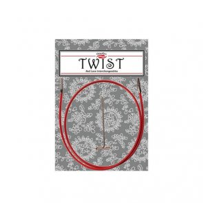 Red Cable SMALL / ChiaoGoo TWIST / 55 cm