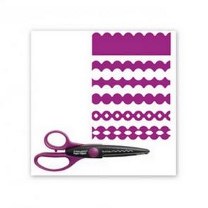 Ozdobné tvarové nůžky fiskars / obloučkový vzor