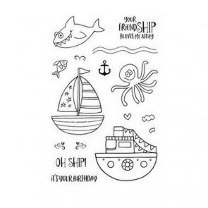 Photopolymer Clear Stamps by Jane´s Doodles / Oh Ship