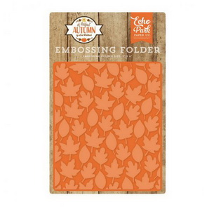 Embossing Folder by Echo Park / A Perfect Autumn / Autumn Leaves