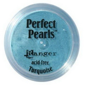 Perfect Pearls pudr / Turquoise