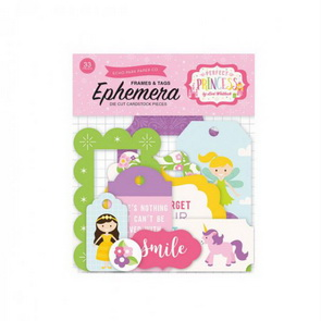 Paper Tags and Frames Set by Echo Park / Perfect Princess