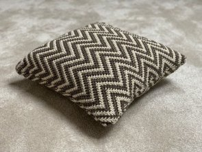 Knitted Pillow - Chevron