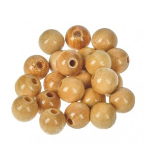 Wooden Beads / Rayher / Natural