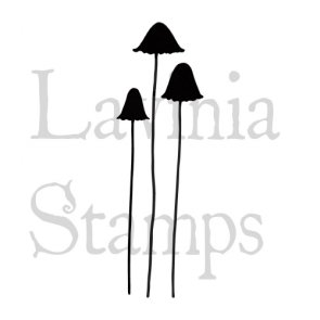 Clear Stamp / Lavinia / Quirky Mushrooms