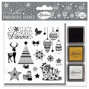 Aladine Stamp Set / Magic Christmas