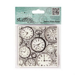 Cling Stamp / Time