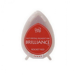 Brilliance Ink Pad / Rocket Red