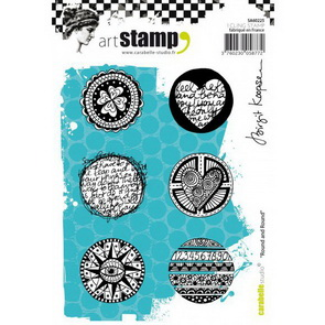 Cling Stamps by Carabelle Studio / Birgit Koopsen / Round and Round