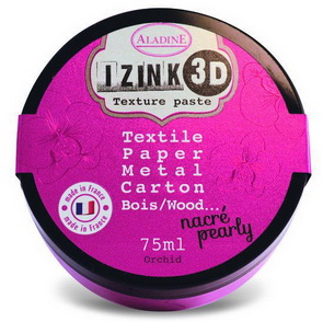 Izink 3D Texture Paste Aladine / Pearl / Orchid