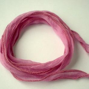 Silk String / Thin / Pink