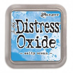 Ink Pad Distress Oxide / Salty Ocean