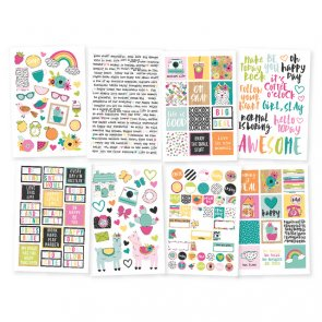 Stickers Set Simple Stories / Oh, Happy Day!