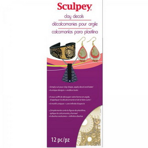 Clay Decals Sculpey / obtisky