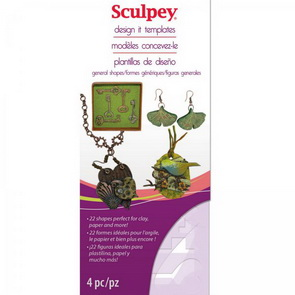 Šablony Sculpey / General Shapes
