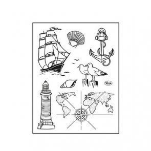 Silicone Stamps by Viva / Seafaring