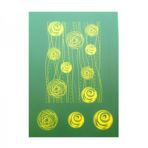 Silk Screen šablona The Rainbow / S06