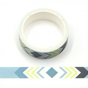 Washi Tape / Blue and Yellow Arrows