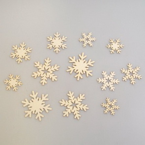 Chipboards Wycinanka / Snowflakes