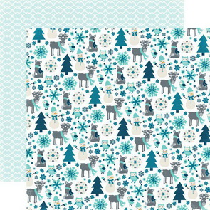 Scrapbooking Paper by Echo Park / Snow Friends