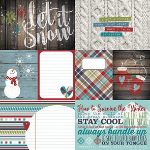 Scrapbookový papír Simple Stories / Snow Patrol / Element 1