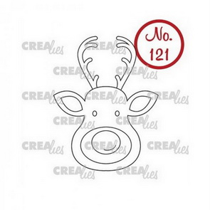 Silicone Stamps by Crealies / Reindeer