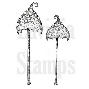 Clear Stamp Lavinia / Spotty Toadstool