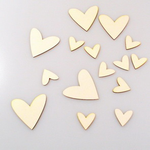 Chipboards Wycinanka / Hearts