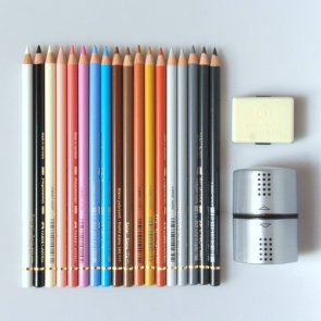 Pencils Polychromos / Faber-Castell / 18 ks / Nikol Start Set