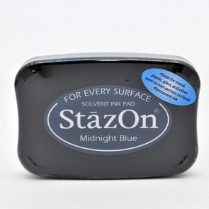 StazOn Ink Pad / Midnight Blue