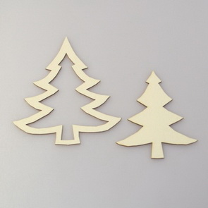 Chipboards by Nemravka / Christmas Tree II.