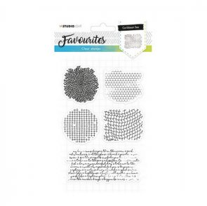 Silicone Stamps Set by Studio Light / Favourites / no. 382