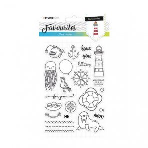 Silicone Stamps Set by Studio Light / Favourites / no. 385