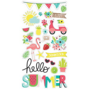 Chipboards Simple Stories / Hello Summer