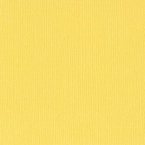 Scrapbooking Paper / Bazzill Paper / Yellow