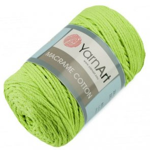 YarnArt Macrame Cotton / 755 Green Light