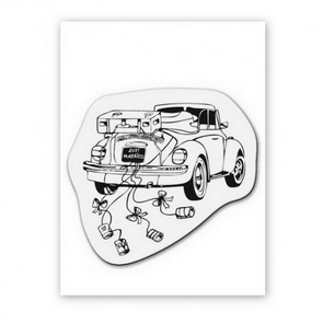 Clear Stamps / Wedding Car
