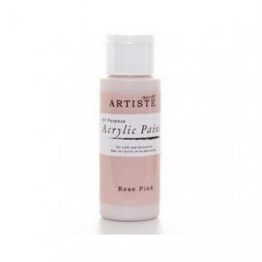 Artiste Acrylic Paint / Rose Pink
