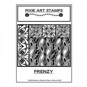 Textura Mike Breil / Pixie Art Stamps / Frenzy