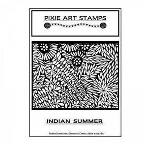 Textura Mike Breil / Pixie Art Stamps / Indian Summer