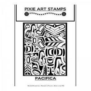 Textura Mike Breil /  Pixie Art Stamps / Pacifica