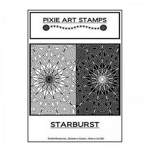 Textura Mike Breil / Pixie Art Stamps / Starburst