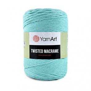 YarnArt Twisted Macrame 500 g / 775 Green Mint