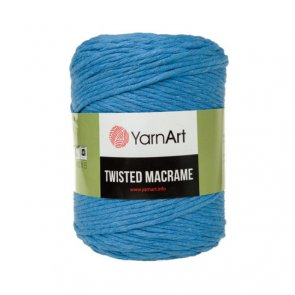 YarnArt Twisted Macrame 500 g / 786 Blue