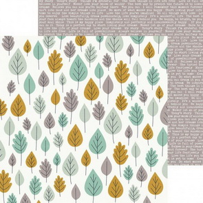 Scrapbooking Paper by KaiserCraft / Hide & Seek / Trees