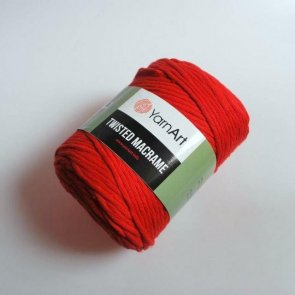 YarnArt Twisted Macrame 500 g / 773 Red