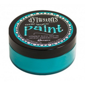 Dylusions Paint / Vibrant Turquoise